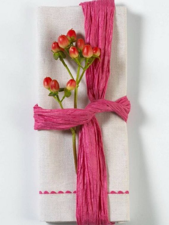 Creative Elegant Napkin Ideas You Can't Screw Up For Any Occasion_20