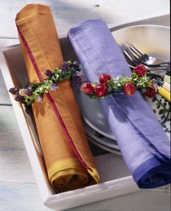 Creative Elegant Napkin Ideas You Can't Screw Up For Any Occasion_34
