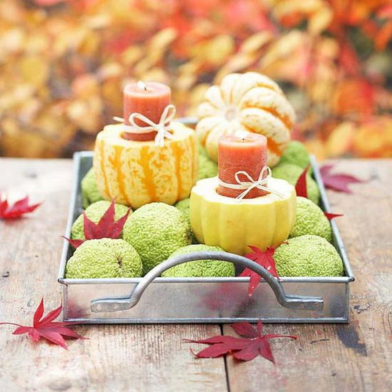 Fantastic Autumn Decoration Ideas and Beautiful Arrangements_13