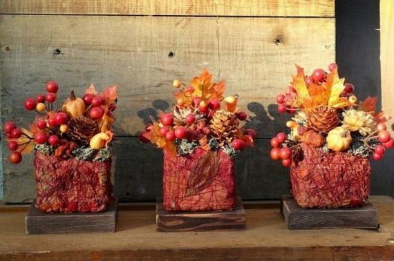Fantastic Autumn Decoration Ideas and Beautiful Arrangements_38