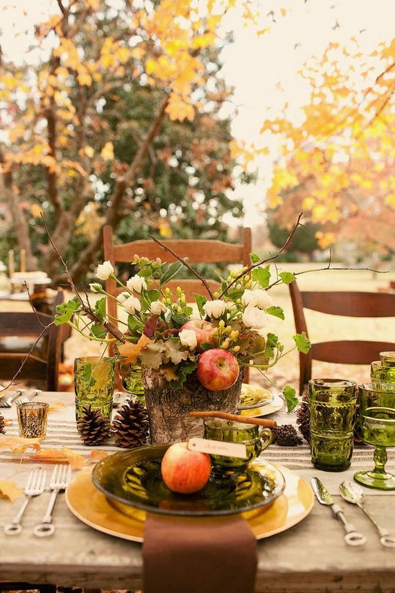 Fantastic Autumn Decoration Ideas and Beautiful Arrangements_46