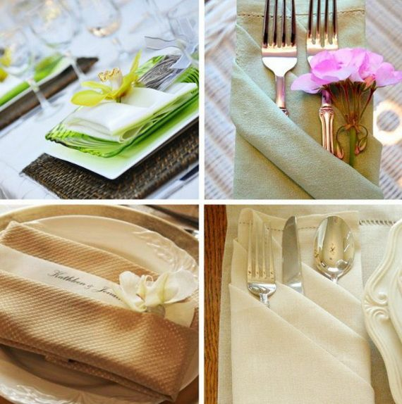 Napkin Folding – Seasonal Ideas For Table Decoration_02