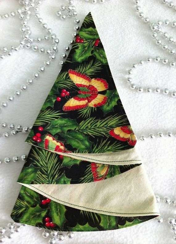 Napkin Folding – Seasonal Ideas For Table Decoration_09
