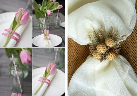 Napkin Folding – Seasonal Ideas For Table Decoration_51