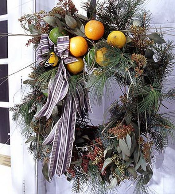 Splendid Fall Wreaths & Door Decoration Ideas And Inspiration_004