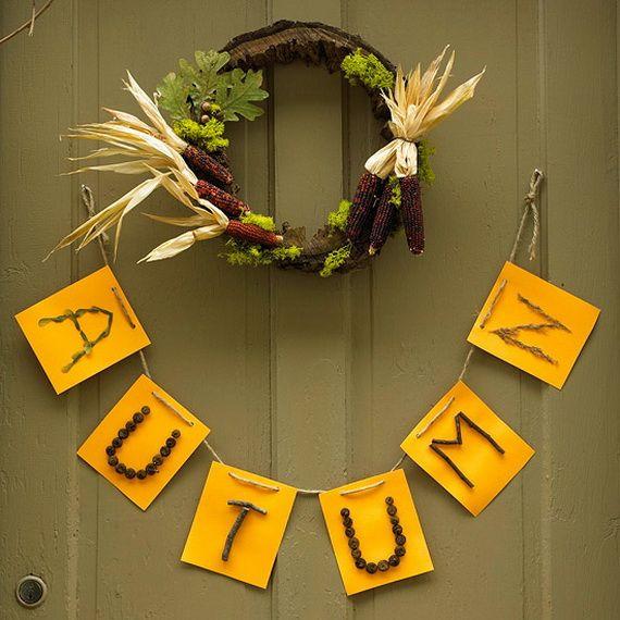 Splendid Fall Wreaths & Door Decoration Ideas And Inspiration_006