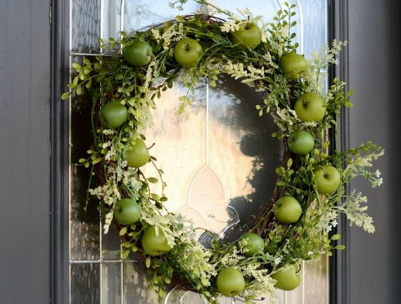 Splendid Fall Wreaths & Door Decoration Ideas And Inspiration_028