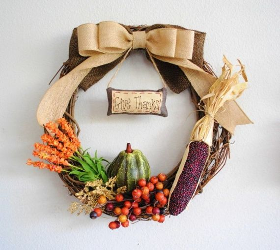 Splendid Fall Wreaths & Door Decoration Ideas And Inspiration_029