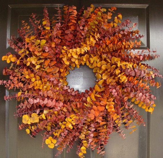 Splendid Fall Wreaths & Door Decoration Ideas And Inspiration_039