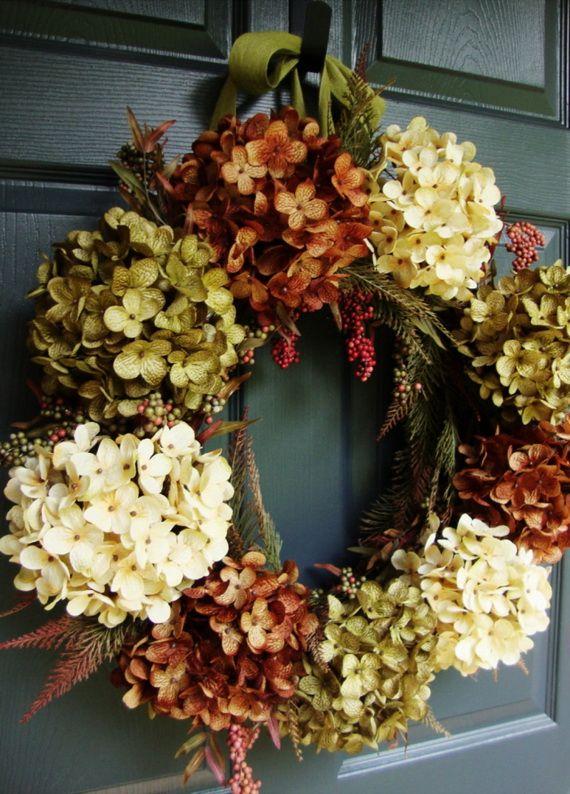 Splendid Fall Wreaths & Door Decoration Ideas And Inspiration_040