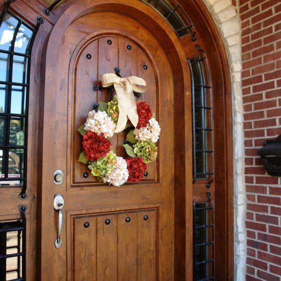 Splendid Fall Wreaths & Door Decoration Ideas And Inspiration_055