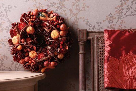 Splendid Fall Wreaths & Door Decoration Ideas And Inspiration_072