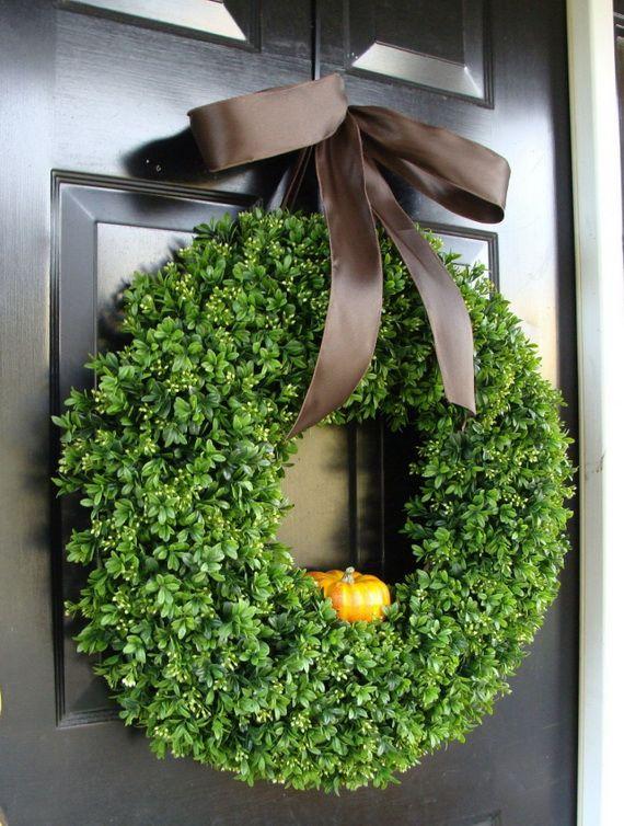 Splendid Fall Wreaths & Door Decoration Ideas And Inspiration_105