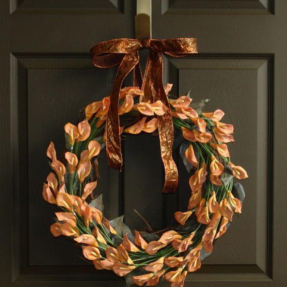 Splendid Fall Wreaths & Door Decoration Ideas And Inspiration_108