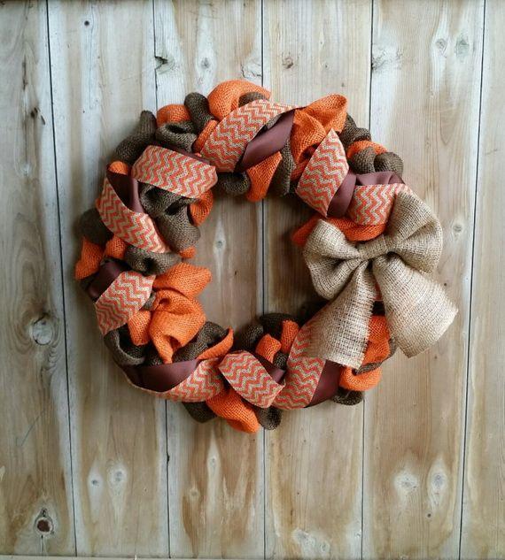 Splendid Fall Wreaths & Door Decoration Ideas And Inspiration_109