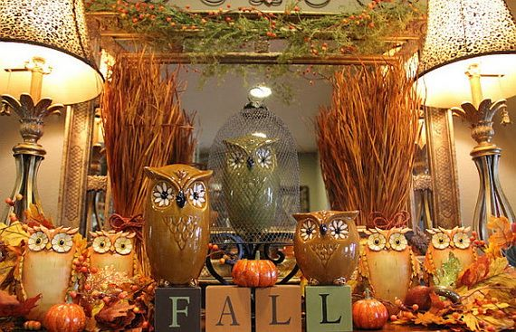 Tasty Fall Decoration Ideas For The Home _12