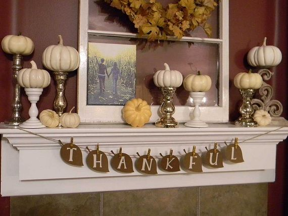 Tasty Fall Decoration Ideas For The Home _19