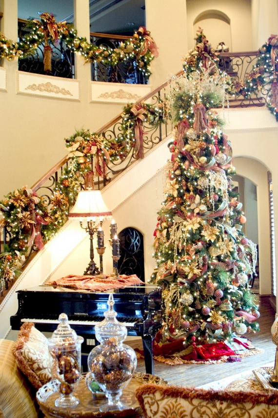 50 Christmas Decorating Ideas To Create A stylish Home_08