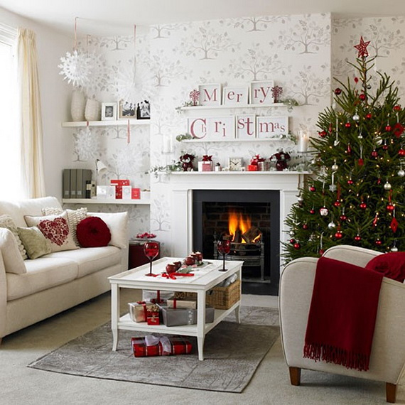 50 Christmas Decorating Ideas To Create A stylish Home_14