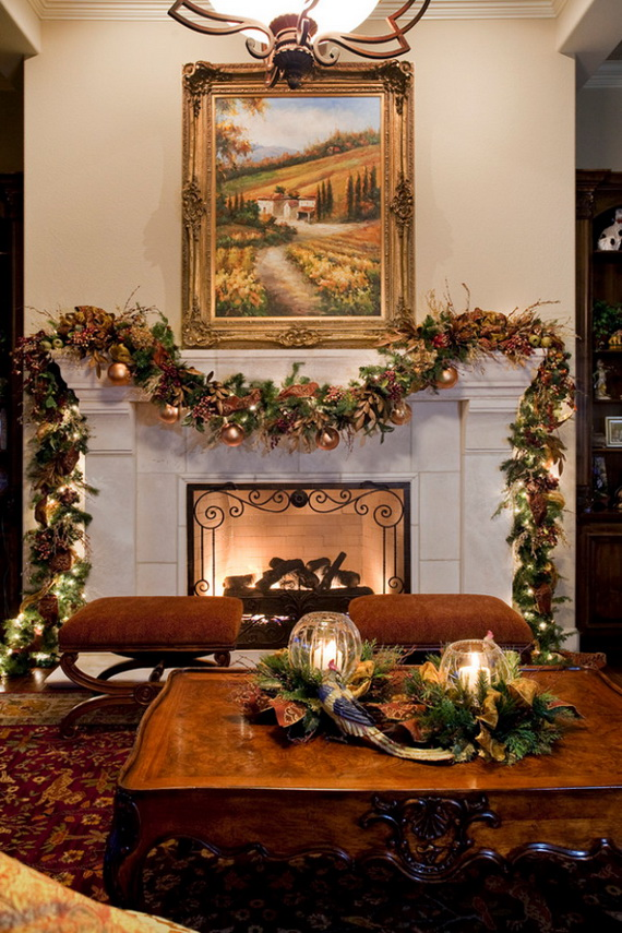 50 Christmas Decorating Ideas To Create A stylish Home_25