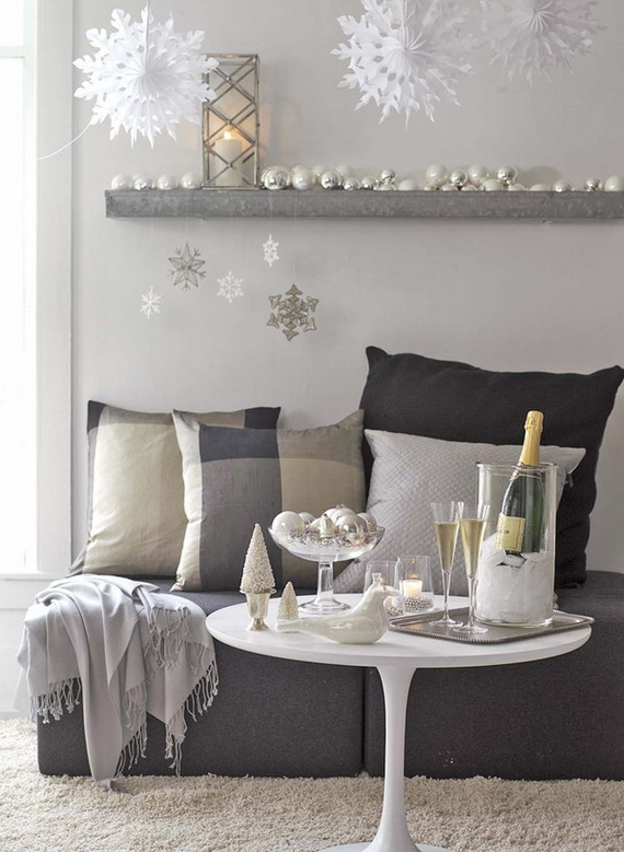 50 Christmas Decorating Ideas To Create A stylish Home_26
