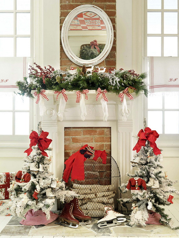 50 Christmas Decorating Ideas To Create A stylish Home_28