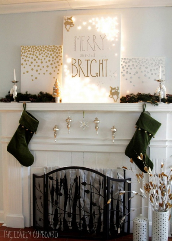 50 Christmas Decorating Ideas To Create A stylish Home_33