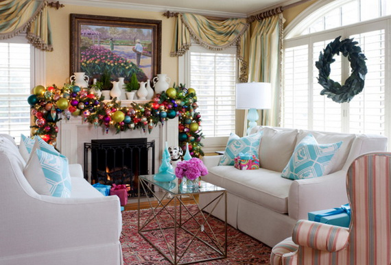 50 Christmas Decorating Ideas To Create A stylish Home_38