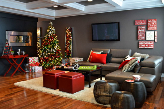 50 Christmas Decorating Ideas To Create A stylish Home_40