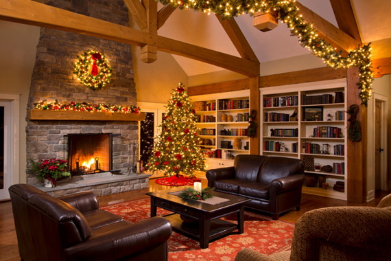 50 Christmas Decorating Ideas To Create A stylish Home_42