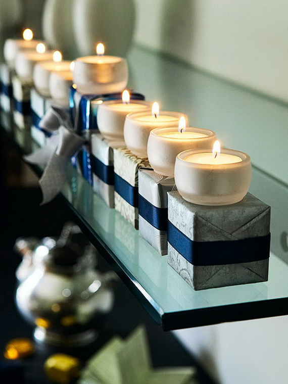 Classic and Elegant Hanukkah decor ideas_07