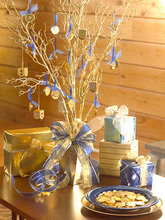 Classic and Elegant Hanukkah decor ideas_10