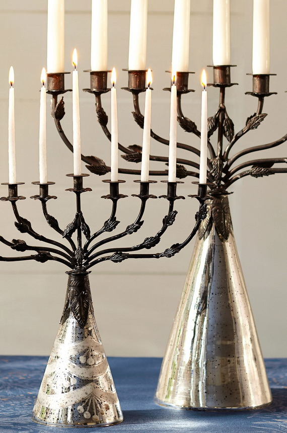 Classic and Elegant Hanukkah decor ideas_21