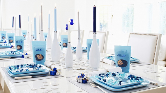 Classic and Elegant Hanukkah decor ideas_26