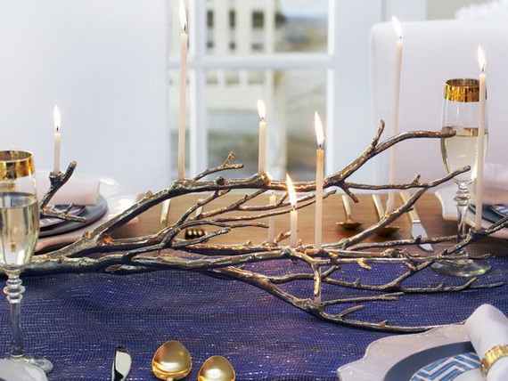 Classic and Elegant Hanukkah decor ideas_56