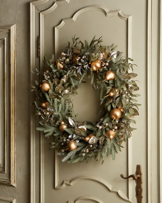 Creative Holiday In Gold Decorating Ideas_21