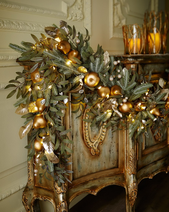 Creative Holiday In Gold Decorating Ideas_22