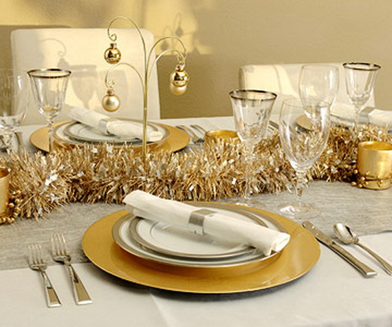 Creative Holiday In Gold Decorating Ideas_27