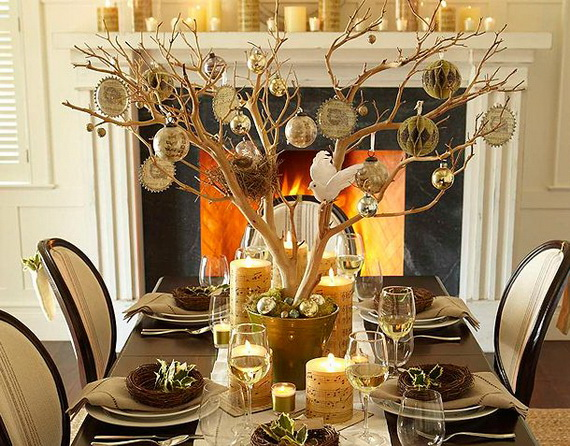 Creative Holiday In Gold Decorating Ideas_40