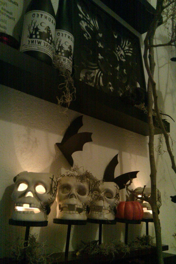 Ghostly Halloween Decoration Ideas for October 31st_24