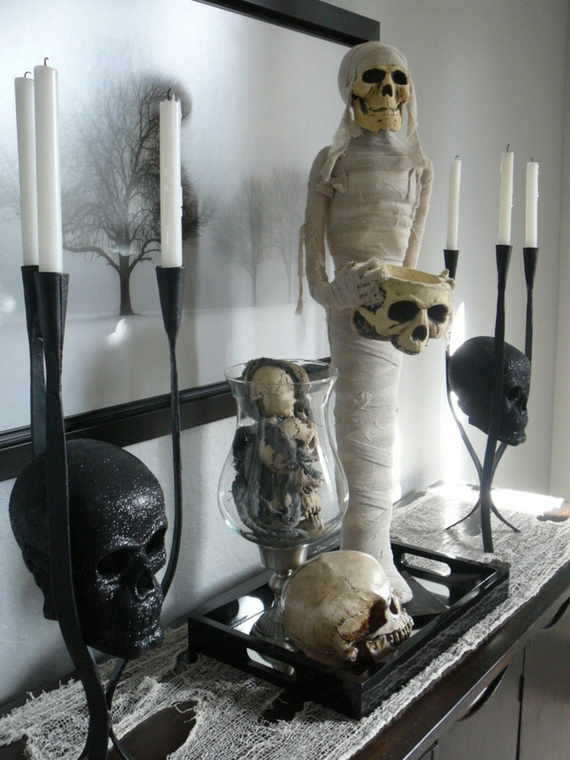 Ghostly Halloween Decoration Ideas for October 31st_25