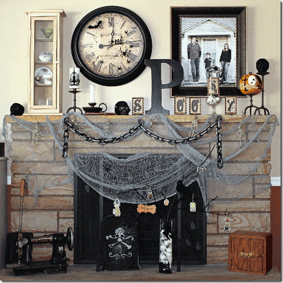 Hauntingly Spooky Dark Interiors Inspired By Halloween