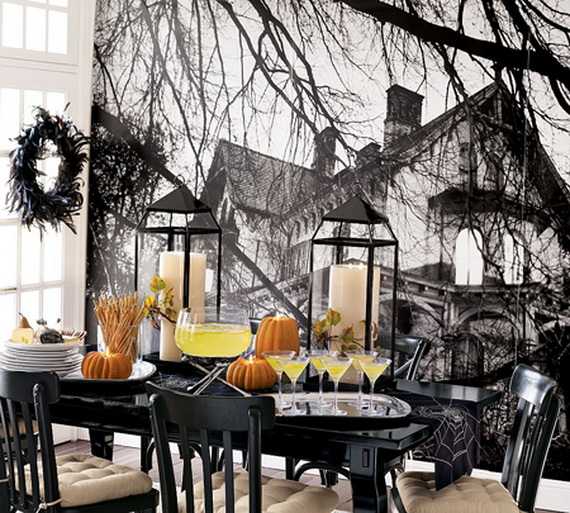 Hauntingly Spooky Dark Interiors Inspired By Halloween_09