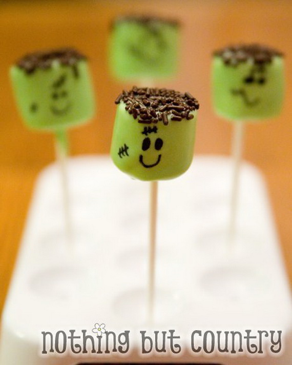 Sweet and salty Edible Halloween Decoration Ideas for kids _10