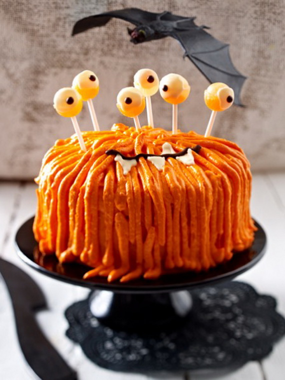 Sweet and salty Edible Halloween Decoration Ideas for kids _35