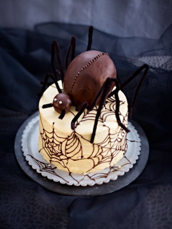 Sweet and salty Edible Halloween Decoration Ideas for kids _39