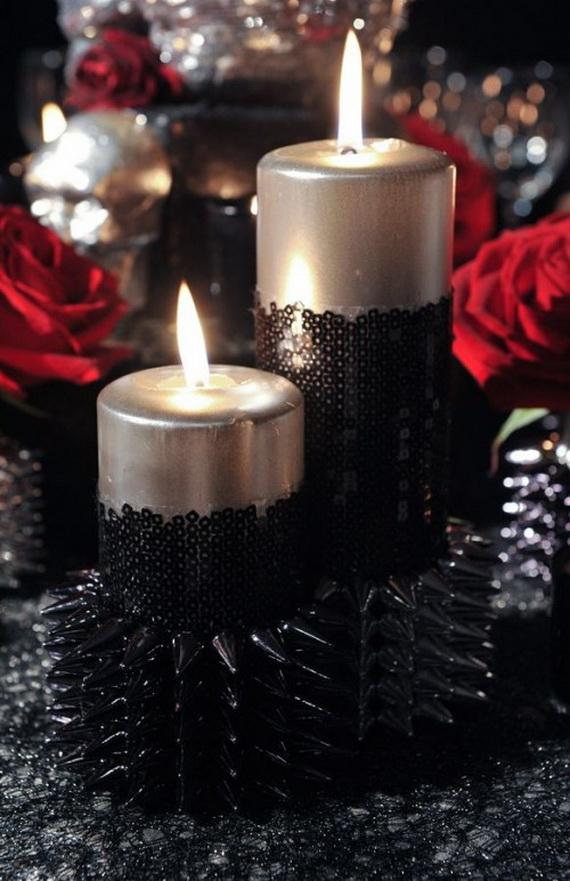 Whimsical Spooky Halloween Table Decoration Wedding Ideas _02