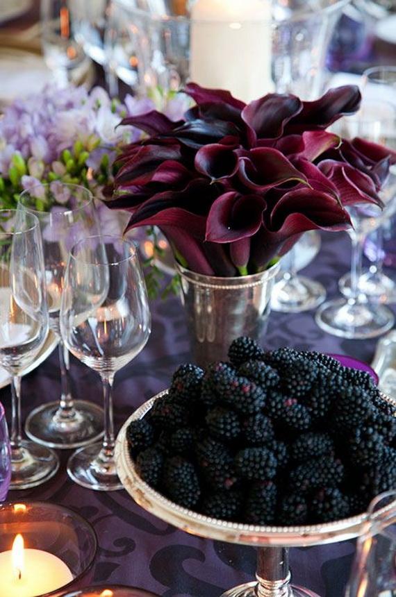 Whimsical Spooky Halloween Table Decoration Wedding Ideas _04