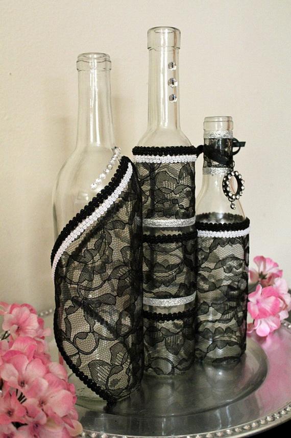 Whimsical Spooky Halloween Table Decoration Wedding Ideas _25