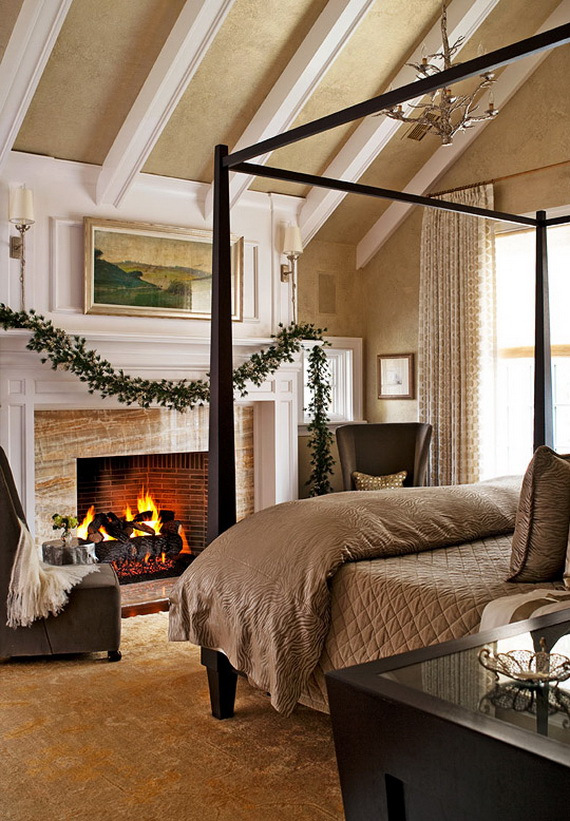 Adorable Bedroom Decor Ideas For Christmas and Special Occasion _15
